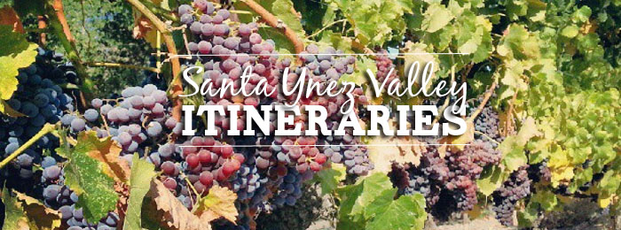 Santa Ynez Valley Itineraries