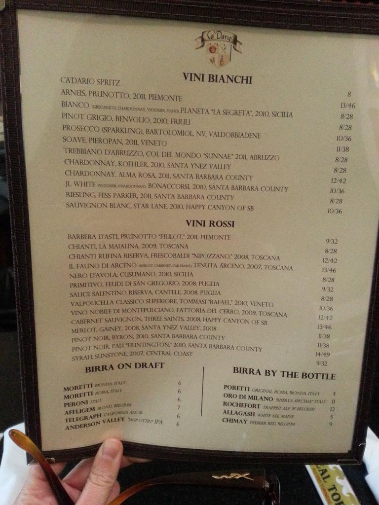 Ca Dario Pizzeria – Santa Barbara Restaurants, Hotels, Activities & Events