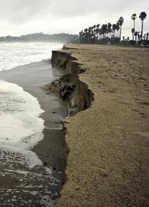 Santa Barbara Storm Shoreline
