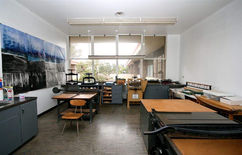 UCSB Art Department Classroom