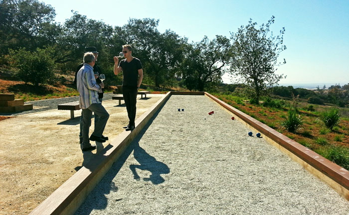Presqu'ile Winery Bocce Ball Court, Santa Maria