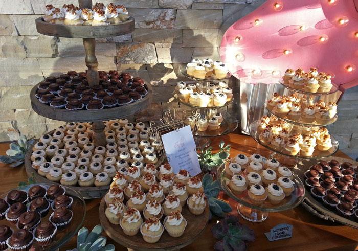Presqu'ile Winery Cupcakes, Santa Maria