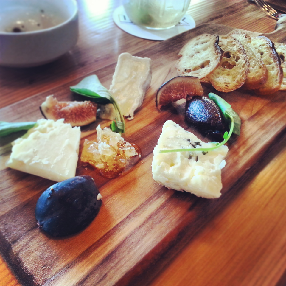 Cheese Plate - The Lark, Funk Zone Santa Barbara