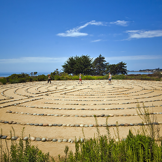 UCSB Labyrinth Trail
